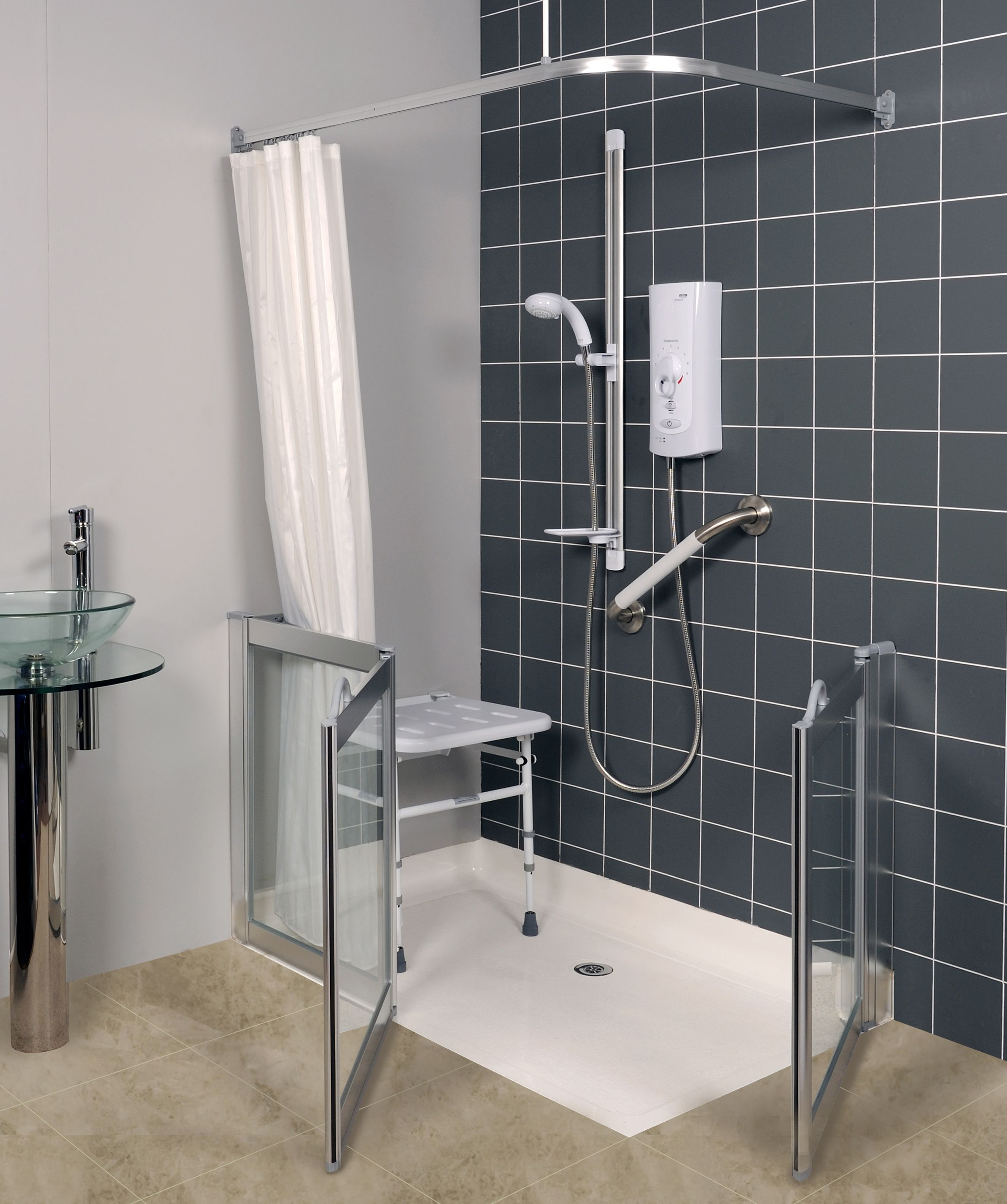 Accessible Showers for the Disabled from Absolute Mobility | Showers ...