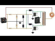 induction heater circuit 12 volt - youtube