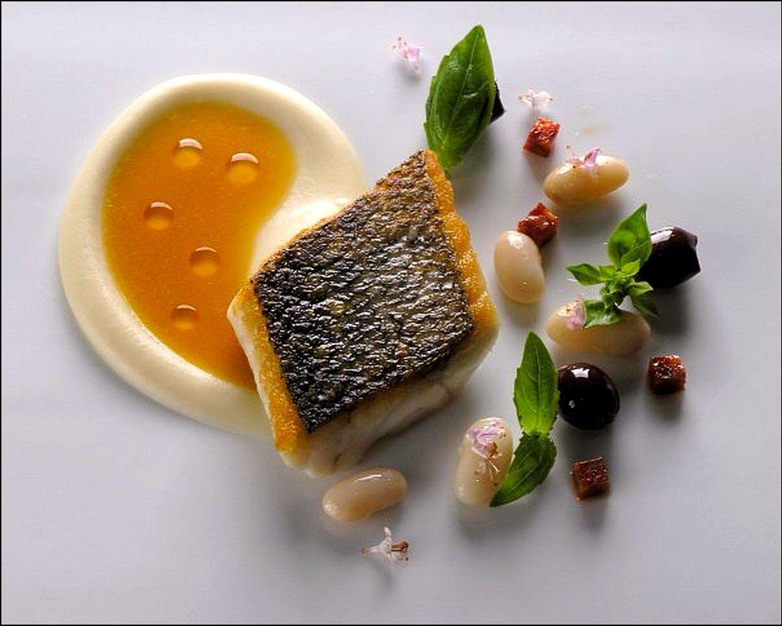 Poisson photos plats pinterest belle assiette - Dressage des plats en cuisine ...