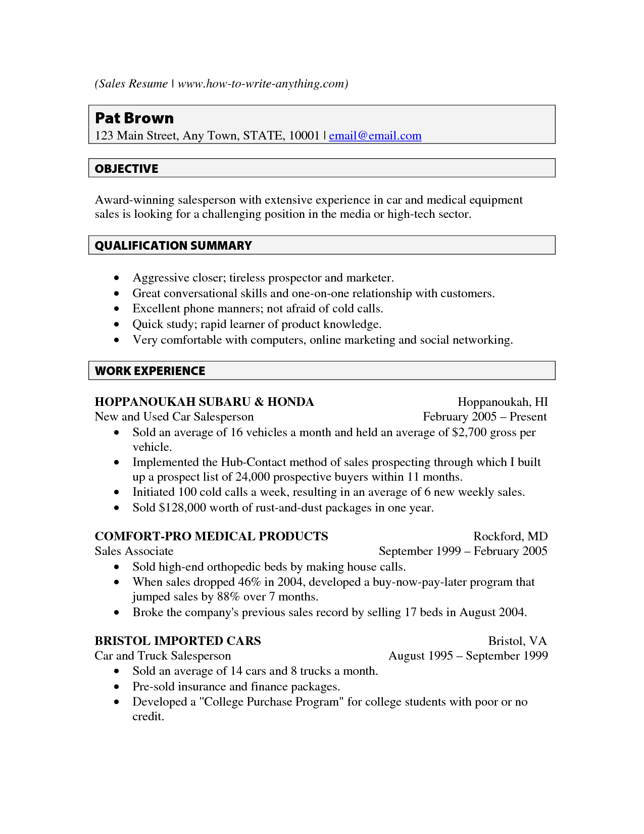 Writing An Objective For Resume Programmer Resume Sample  Resume  Pinterest  Resume Examples