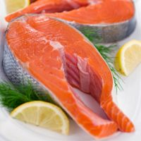 Eat smart for your brain. People who have higher blood levels of DHA (an omega-3 fatty acid found in cold-water fish like salmon, sardines, and mackerel) have a 47 percent lower risk of dementia than those with the lowest levels, reported a Tufts University study of about 900 older women and men.