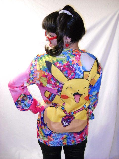 Pikachu Kawaii Outfit: かわいいピカチュウ衣: https://www.youtube.com/watch?v=BoxOGDg3zXo Sweatshirt: http://www.oasap.com/sweatshirts-hoodies/50187-brightly-multicolor-cartoon-animal-print-sweatshirt.html/?fuid=137840 Price:$24.36 Hat: http://www.oasap.com/hats/50034-multifunctional-faux-rabbit-fur-edge-hat.html/?fuid=137840 Price:$11.76 Gloves: http://www.oasap.com/gloves/33992-heart-graphic-knitted-gloves.html/?fuid=137840 Price:$3.90