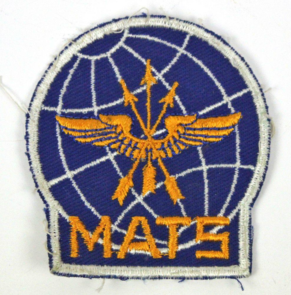 Vietnam War USAF MATS Military Air Transport Service Cloth