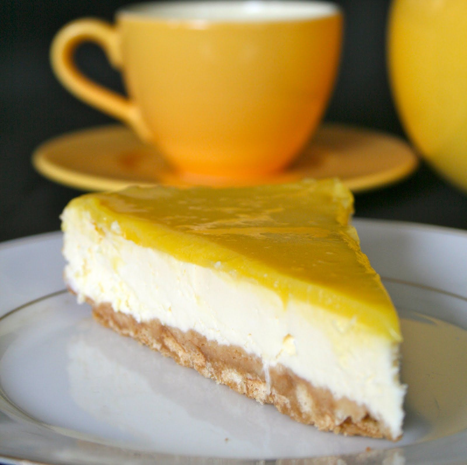 cheesecake citron philadelphia food for thought. Black Bedroom Furniture Sets. Home Design Ideas