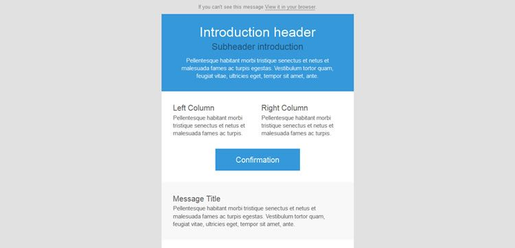 30 Free Responsive Email and Newsletter Templates | Newsletter ...