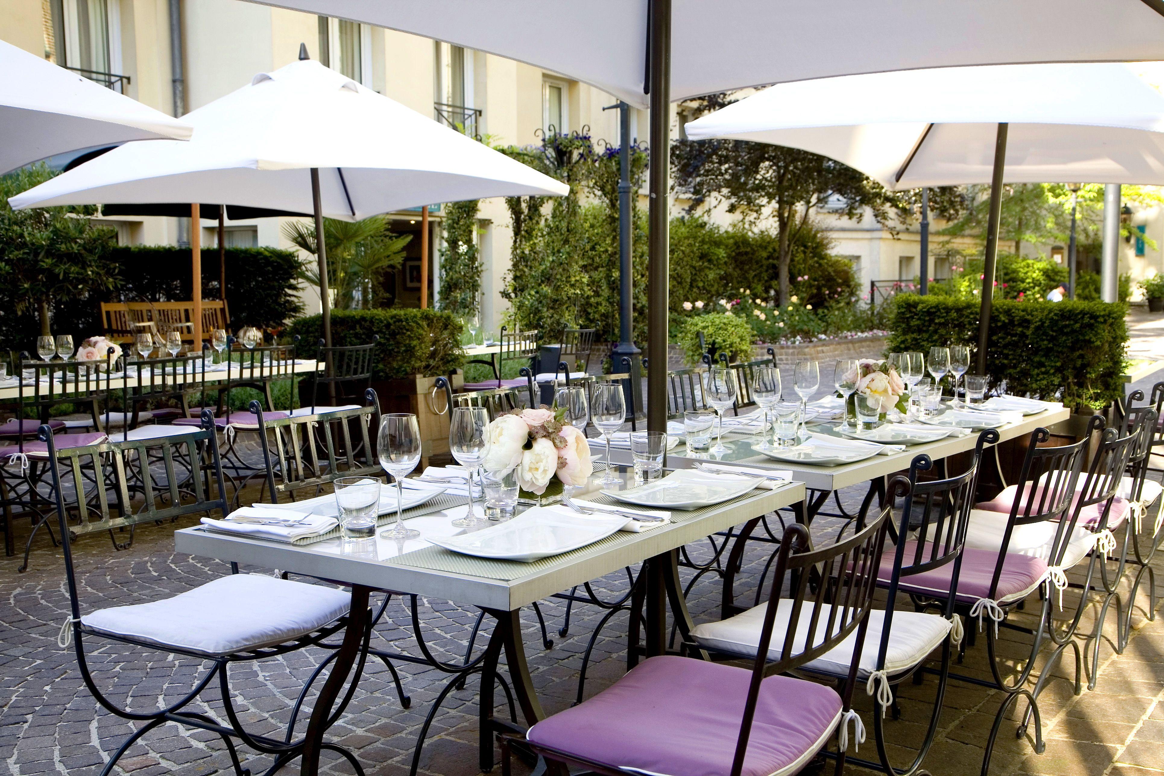 Restaurant Les Jardins du Marais - terrace