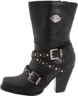 Lot Art | Women's Harley Davidson Boots