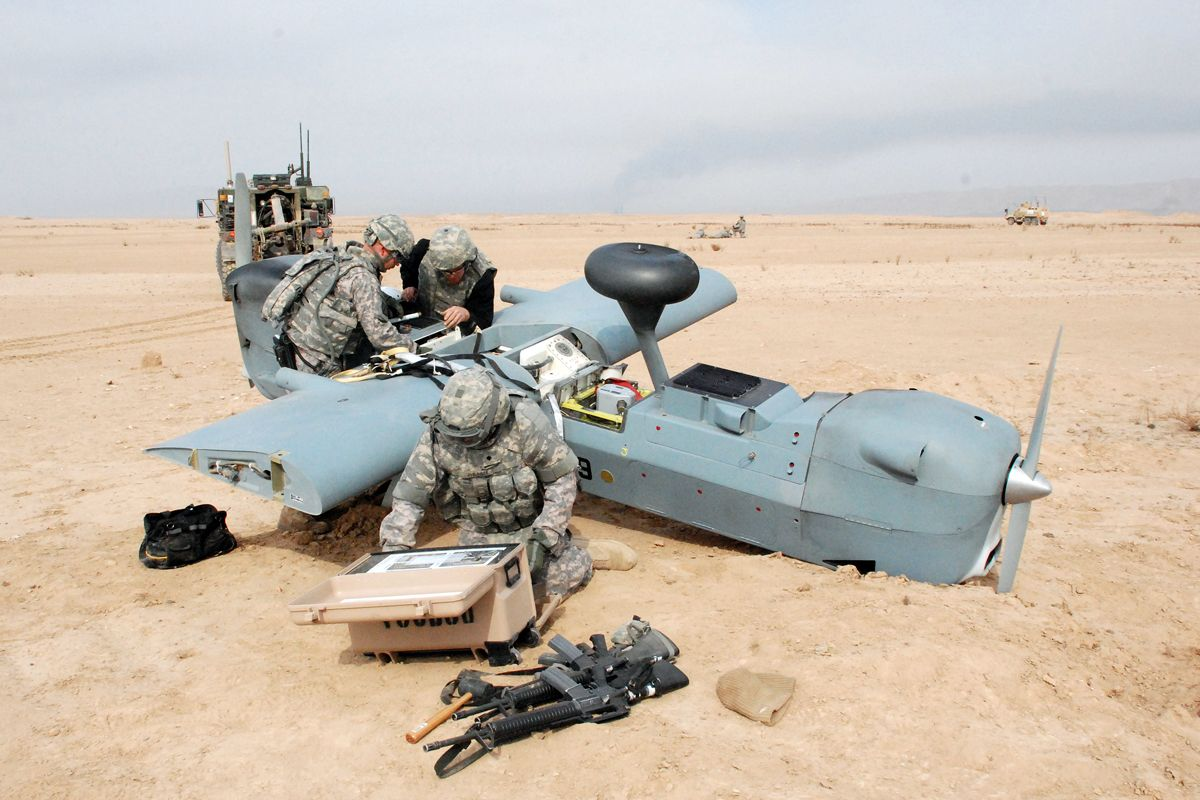 Members Of The 10th Combat Aviation Brigade S 277th Aviation Support Battalion Downed Aircraft Recover Unmanned Aerial Vehicle Military Special Forces Aircraft