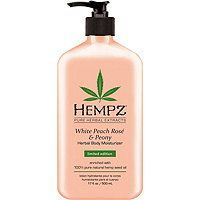 Hempz White Peach Rose Peony Herbal Body Moisturizer Lotion