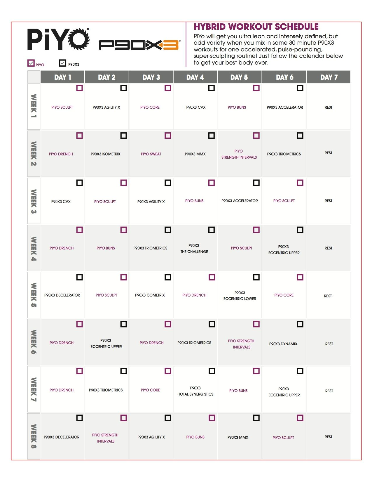 worksheet P90x Worksheets Pdf p90x lean my first 90 days that i am doing fitness piyo will get you ultra and intensely defined but add variety when mix