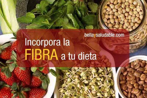 La importancia de incorporar la fibra a tu dieta - Food..