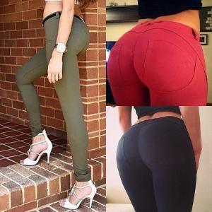 Sexy Women High Elasticity Hip Lift Yoga Pants
