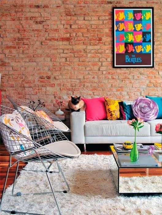 Cinco Colores Para Ladrillo Visto Decorar Mi Casa Chic Interior Design House Interior Interior Design