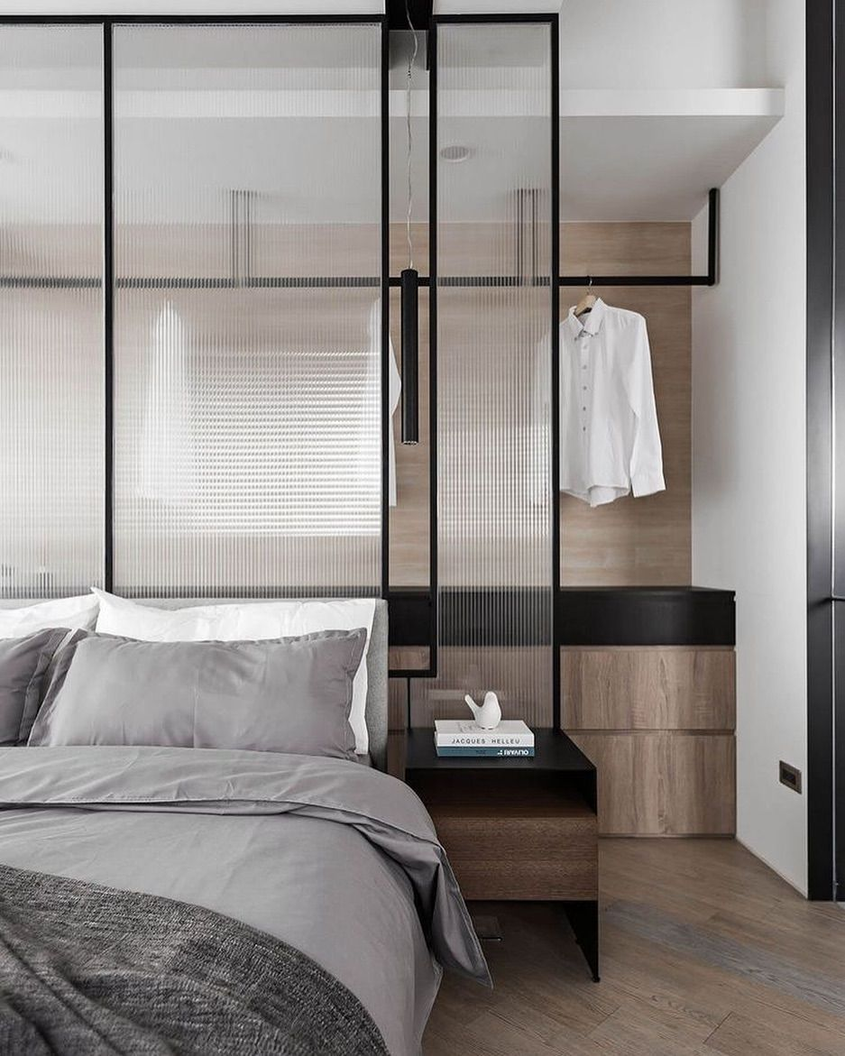 Lovely Bedroom Walk In Closet Image S From Pinterest Designer Tbt Fu Luxe Bedroom Contemporary Bedroom Design Interior Design Bedroom