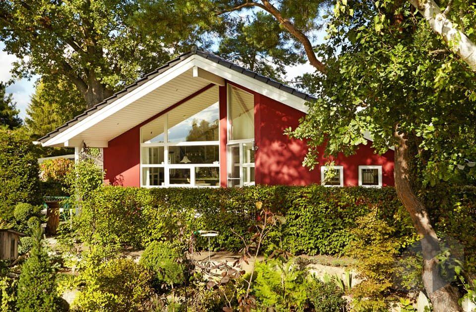 fertighaus bungalow satteldach. Black Bedroom Furniture Sets. Home Design Ideas