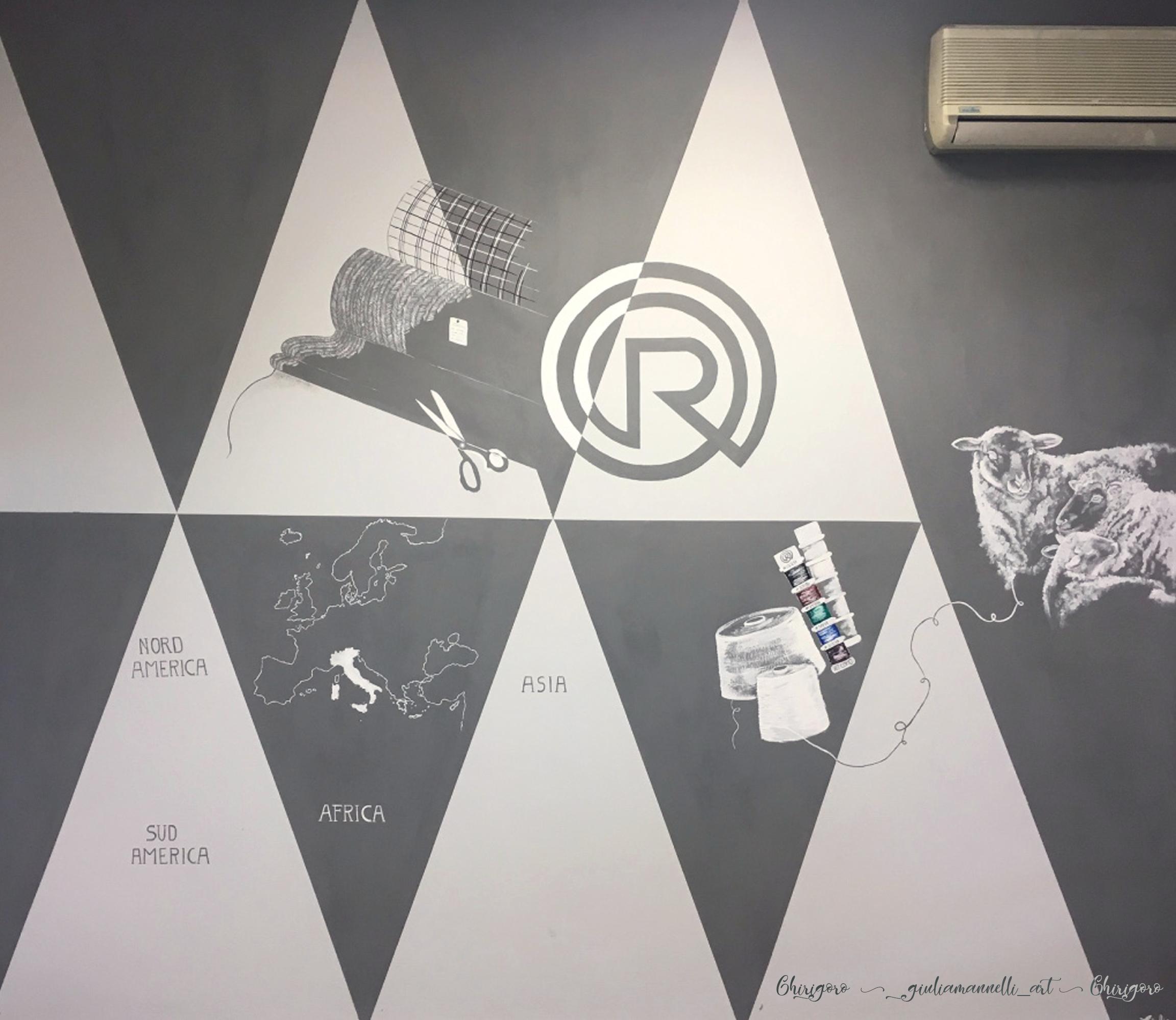 Pittura murale by @giuliamannelli_art - la storia della ...