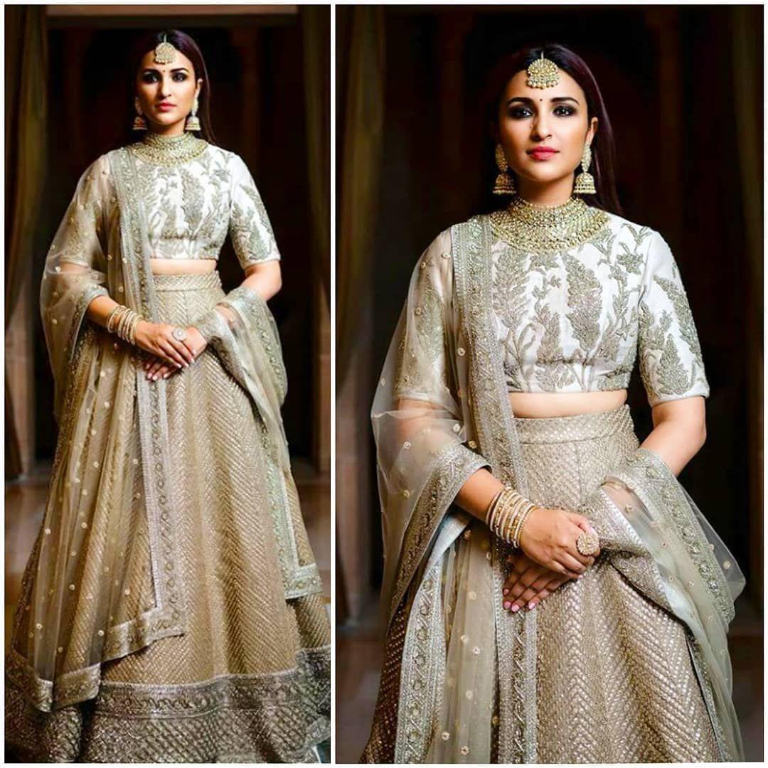 Prinitichopra Priyanka Chopra Wedding Lehanga Designs Indian