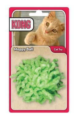 Kong Moppy Ball Cat Toy 2 5 Assorted Cat Toys Cat Allergies Cat Ball
