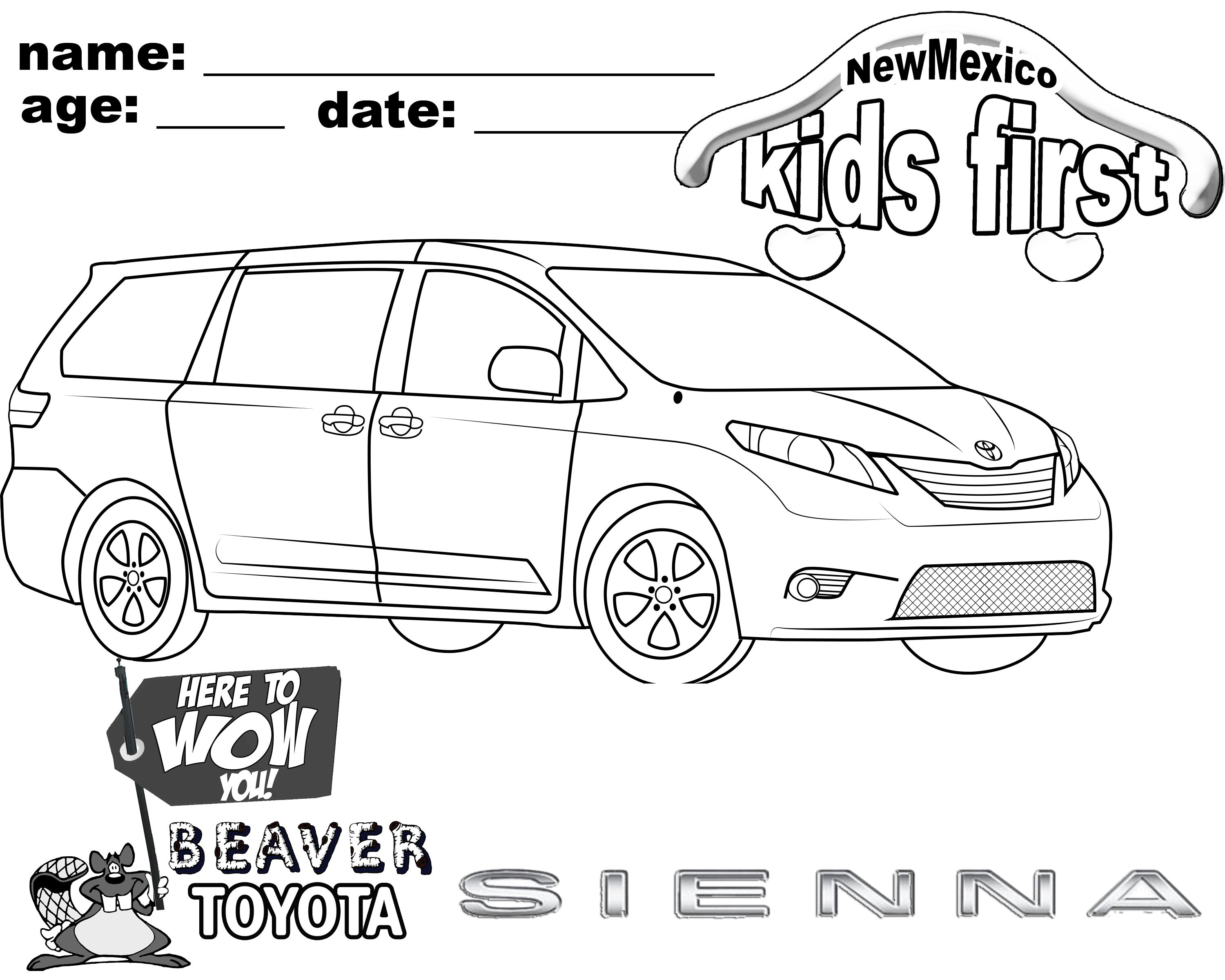 Color My Toyota Sienna