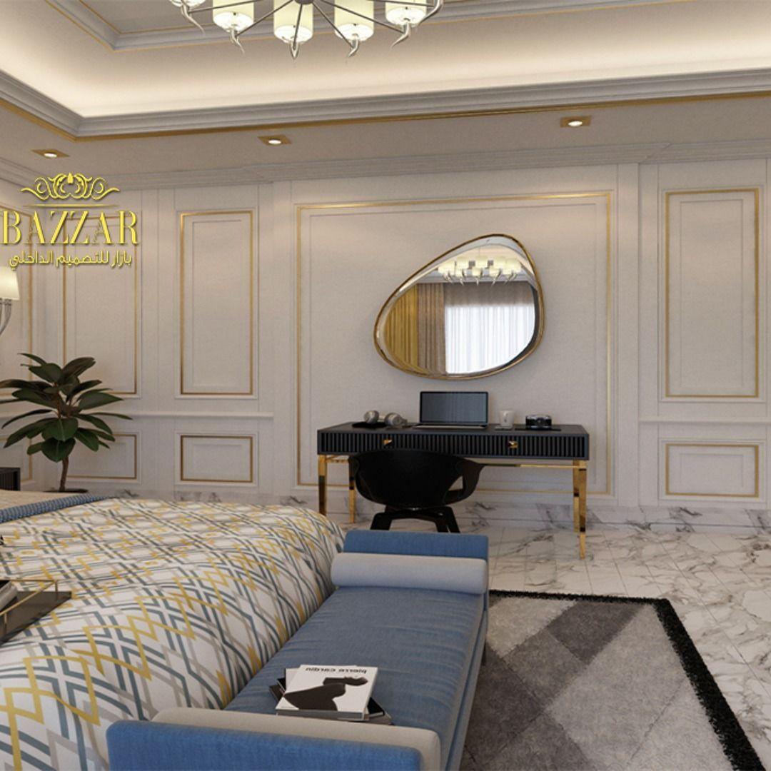 غرفه نوم نيوكلاسيك باللوان مبهجه وتصميم بسيط للسقف واختيار بعض الاكسسوارات لتعطي روح جماليه للغرفه ديكور غرف نوم تصميم د Luxury Living Room Luxury Living Home