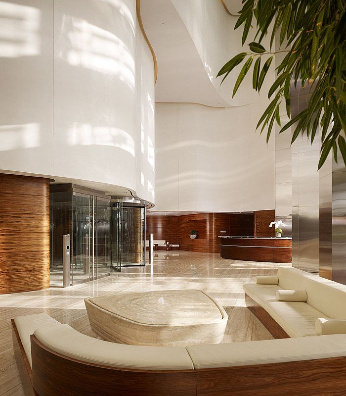 Som Burj Khalifa Interiors With Images Hotel Lobby Design