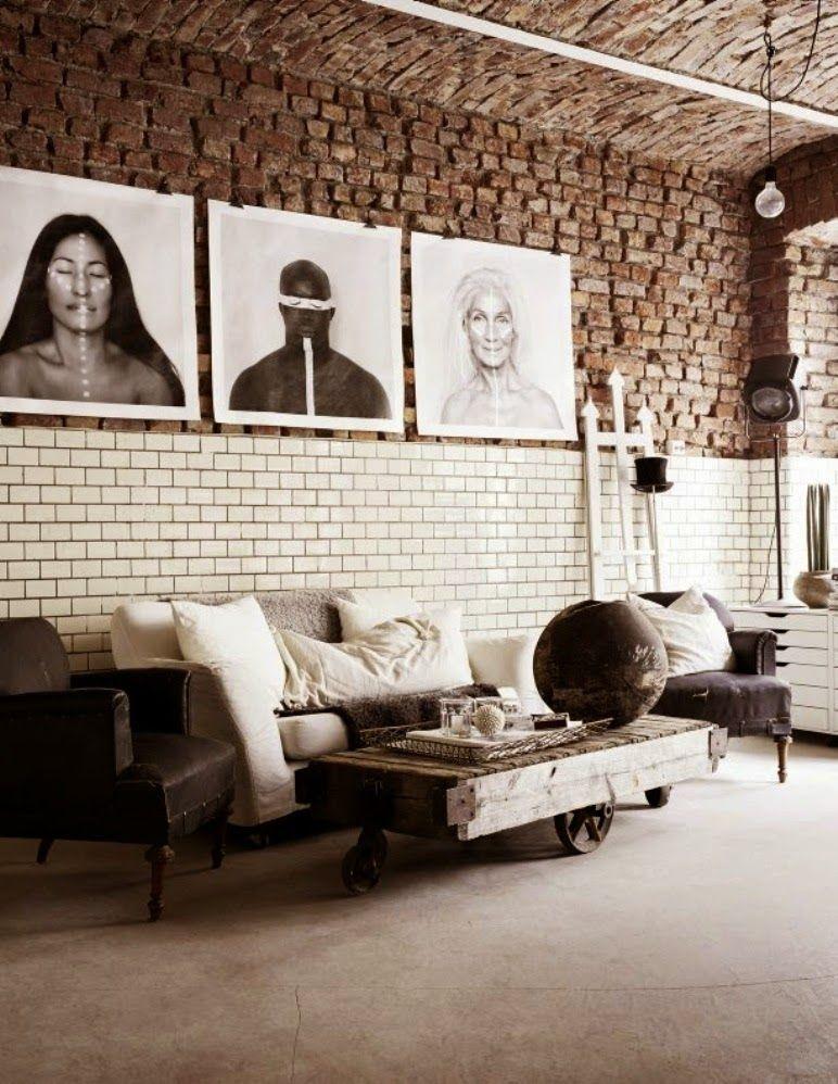 Antic&Chic. Decoración Vintage y Eco Chic: [Negocios bonitos] Un atelier perfecto de estilo industrial
