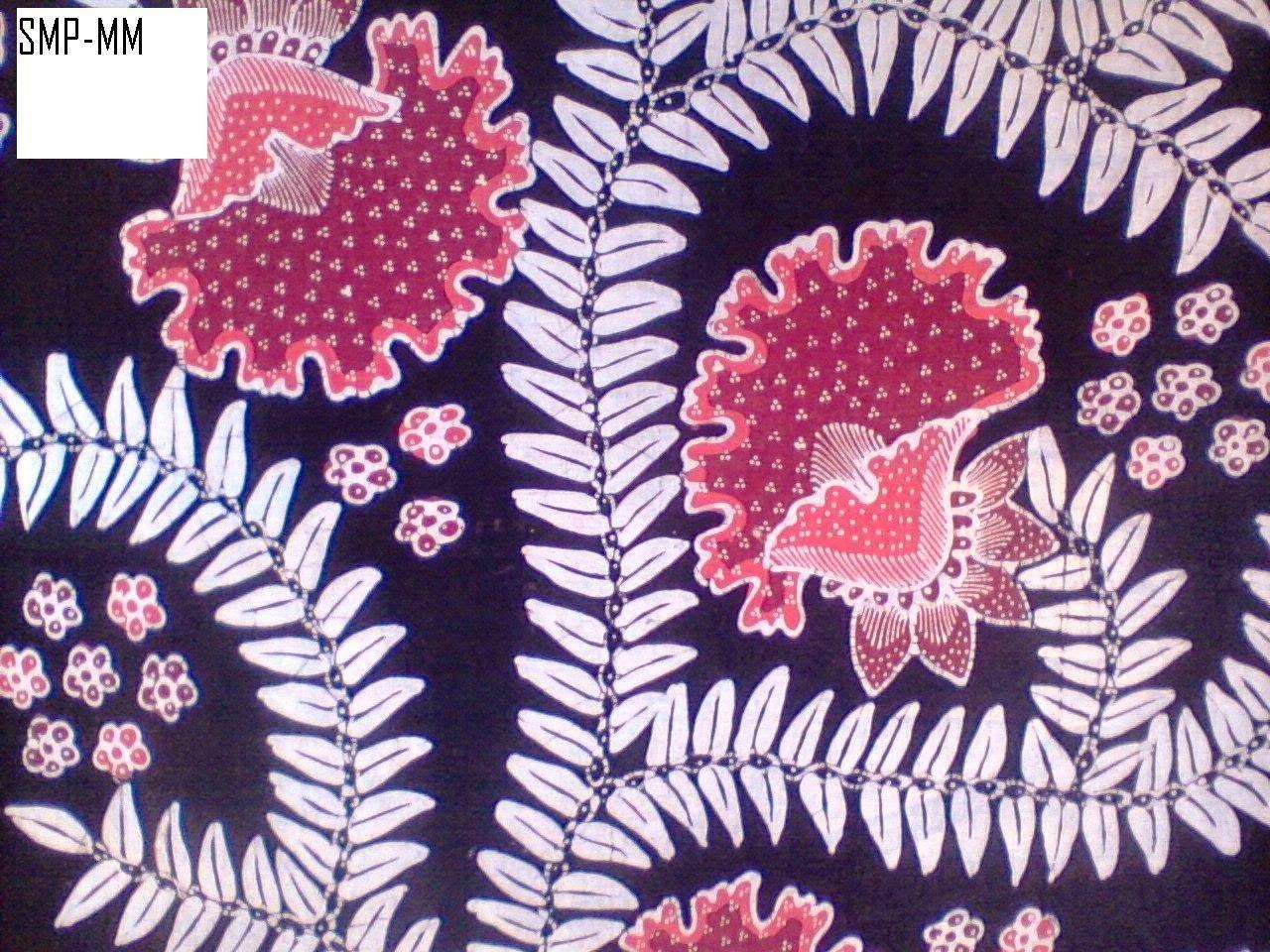 Motif Batik Modern Yang Mudah Digambar - Batik Indonesia