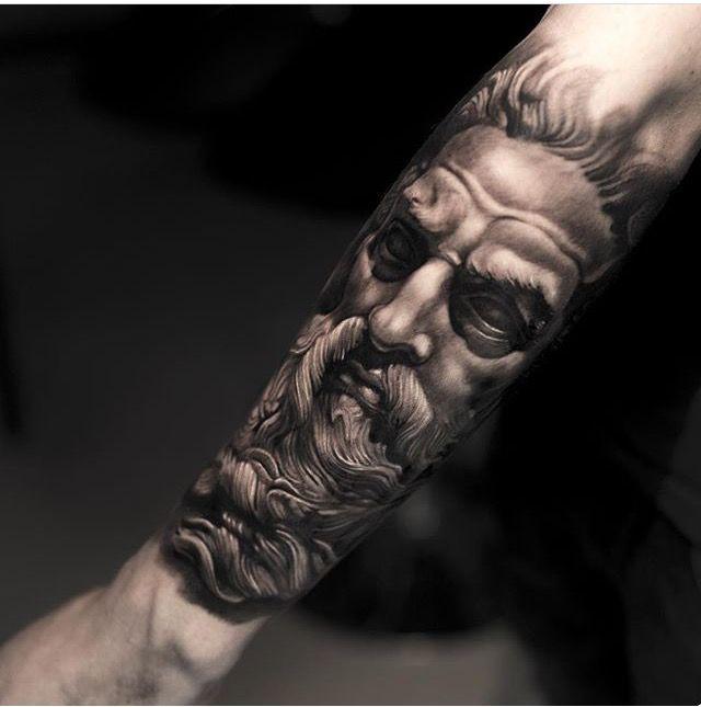 Greek Tattoo Beautiful Tatuaje Zeus Tatuajes Chiquitos Tatuaje Griego