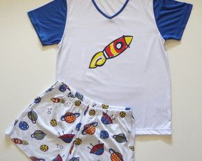 6b7b82347a Pijama masculino infantil