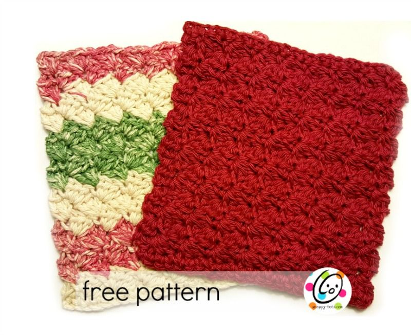 Free Pattern: Scalloped Wash Cloth | Patrones