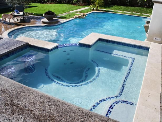 Whirlpool Spa And Pool Combo Hot Tub Garden Outdoor Spas Hot Tubs Swimming Pools