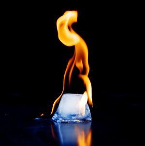 34++ Burning ice ideas