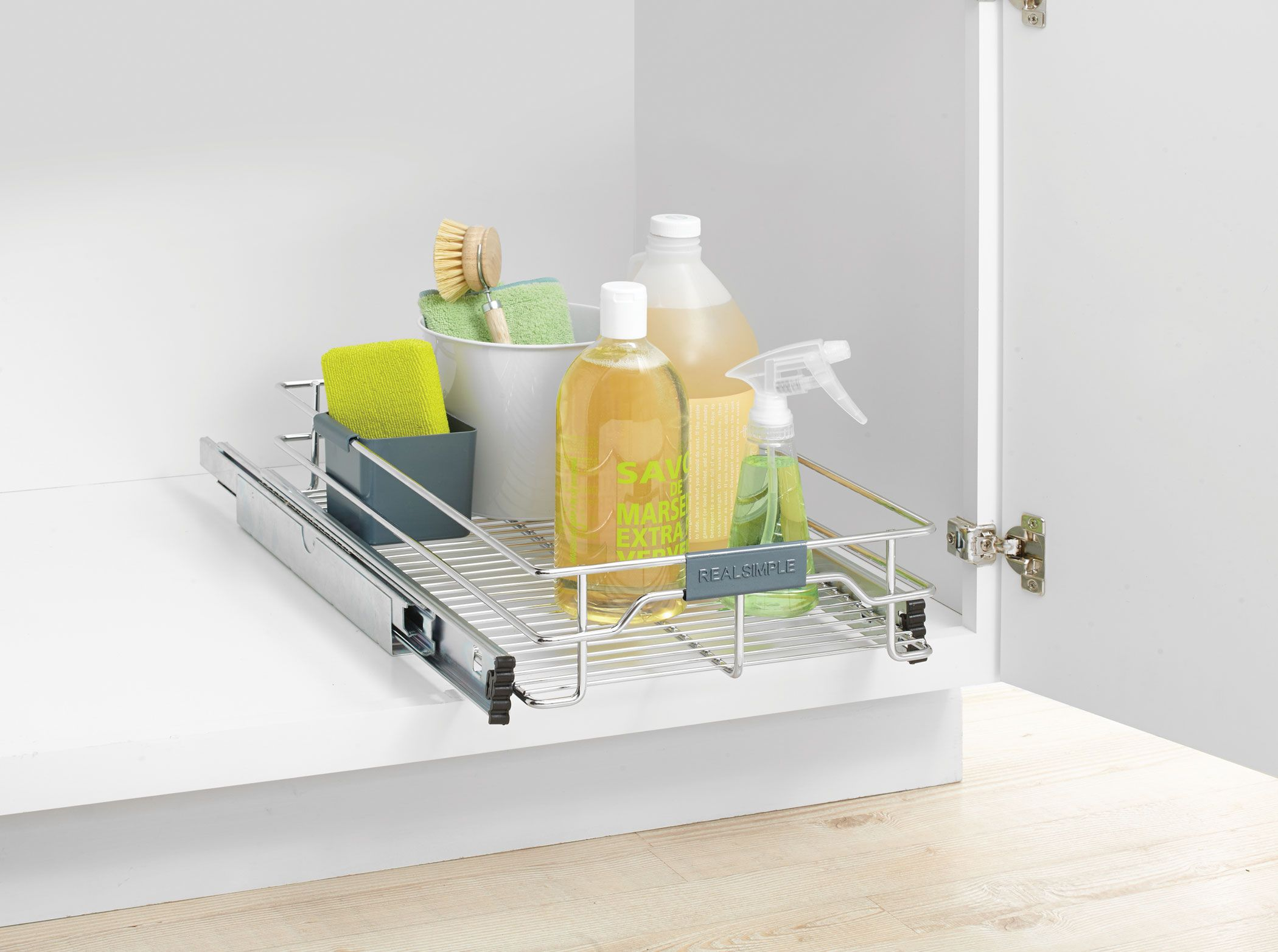 Real Simple® Sliding Organizer in Chrome