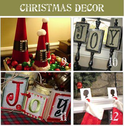love holiday decorations Christmas Pinterest Christmas decor