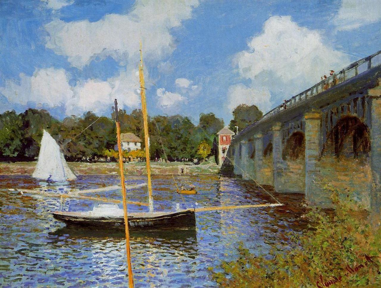 Claude Monet, Bridge at Argenteuil