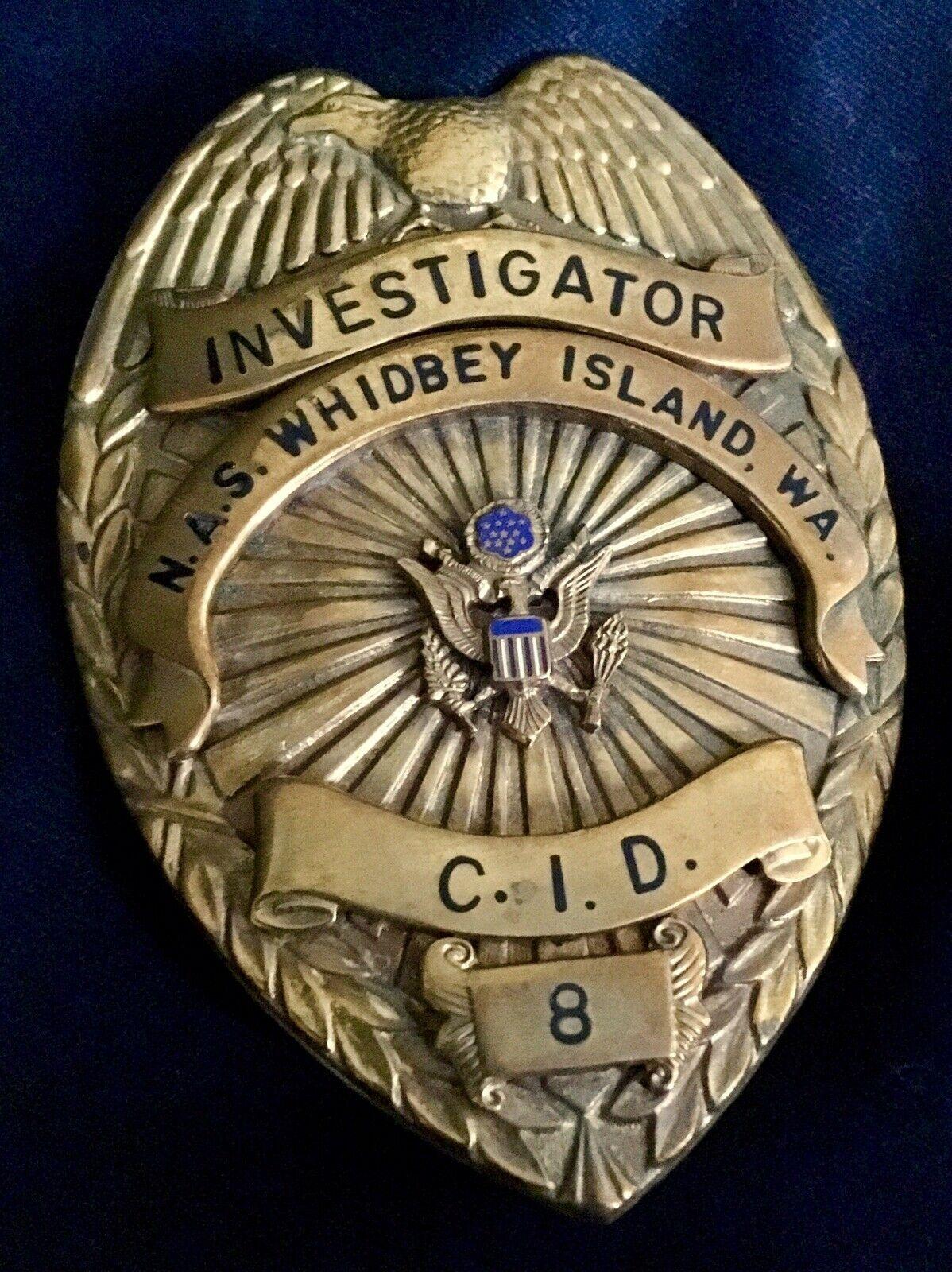 Investigator, Criminal Investigation Division, Naval Air