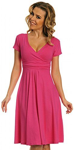 Glamour Empire Women's Knee Length Short Sleeve Jersey Skater Summer Dress 108 (Fuchsia, 18) Glamour Empire http://www.amazon.com/dp/B00XJTOWB2/ref=cm_sw_r_pi_dp_sFO7vb1MHY9ZC