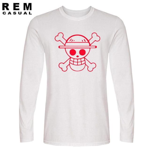 One Piece Straw Hat Pirates Symbol Long Sleeve T Shirt Pirate