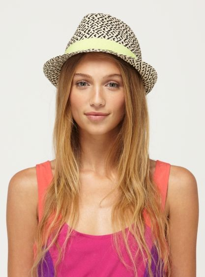 95794581 Heat Wave Hat - Roxy - fedora hat - straw hat | I love Fedora Hats ...