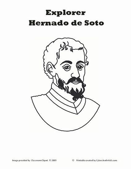 Hernando De Soto Explorers Unit Social Studies Teaching