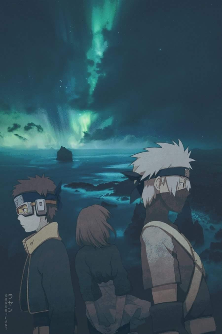 Obito Rin And Kakashi Image De Naruto Images Kawaii Et