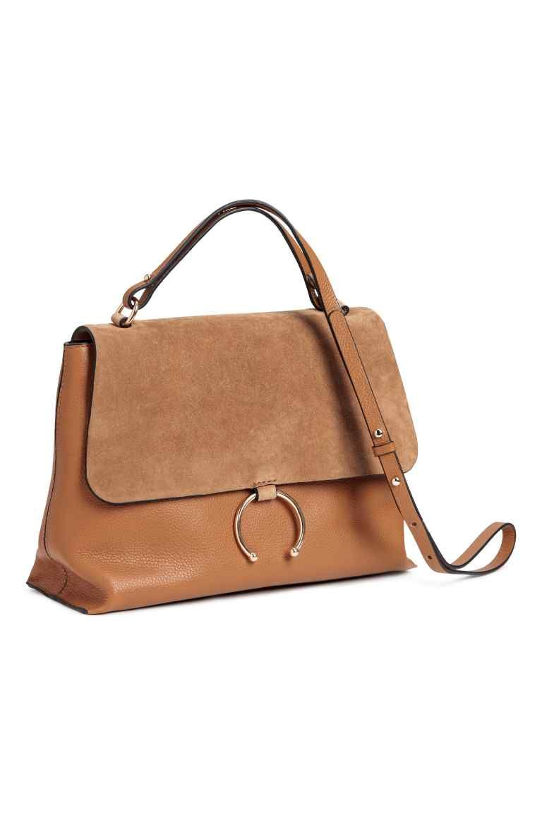 Leather Shoulder Bag Light Brown Ladies H M Gb Omuz Cantasi Cantalar Deri Omuz Cantasi
