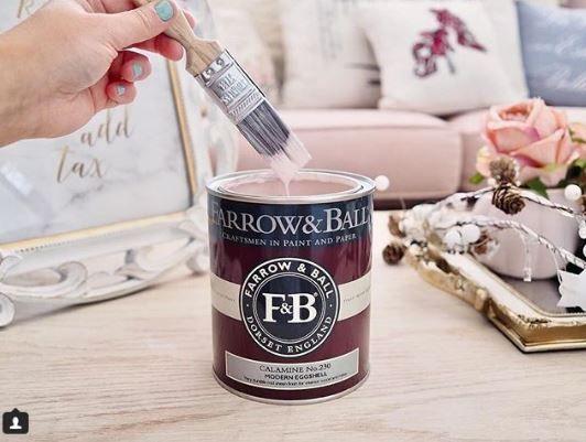 Best Farrow Ball Calamine Painted China Cabinets Farrow 400 x 300