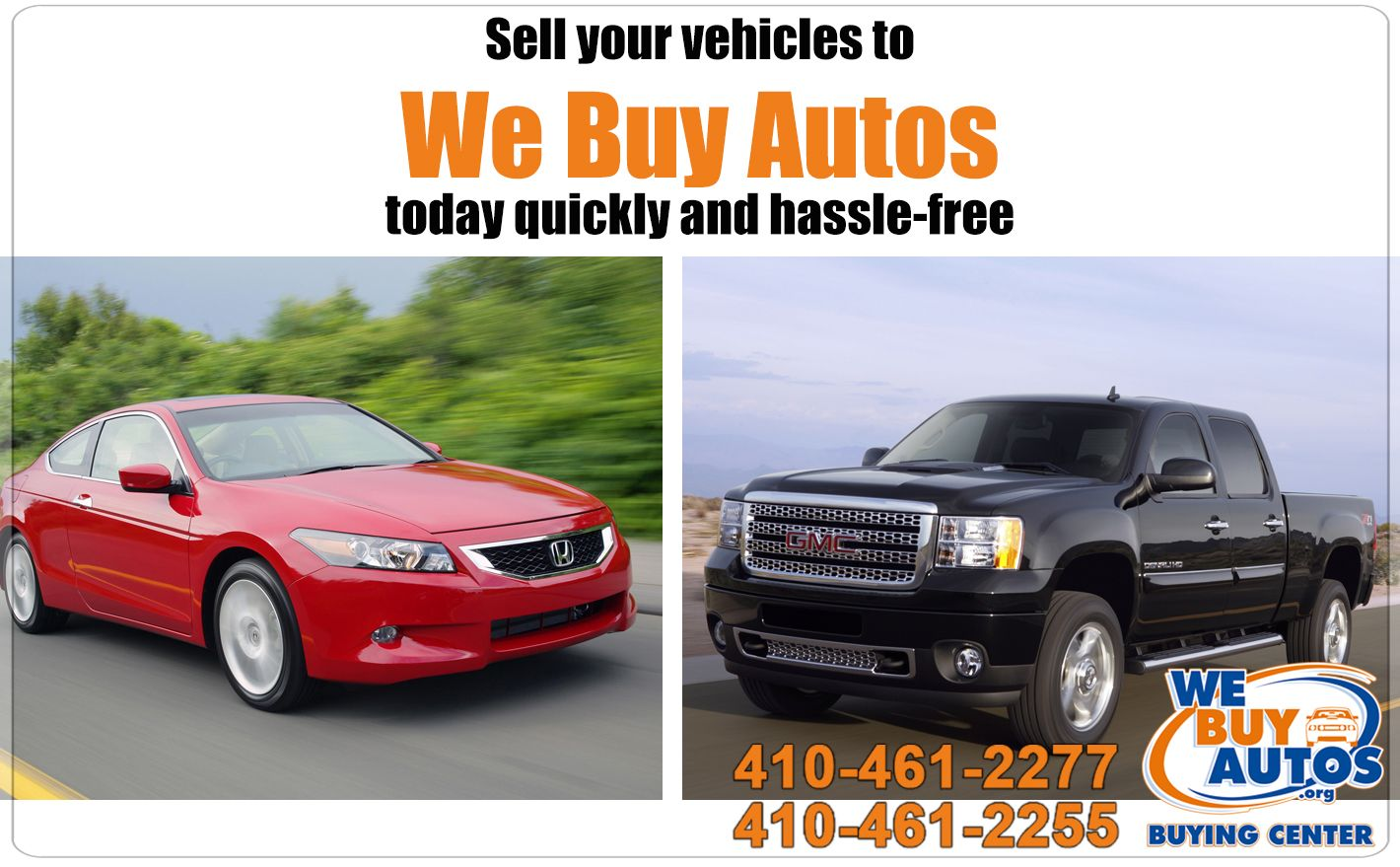 Sell your vehicles to We Buy Autos today quickly and hassle-free ...