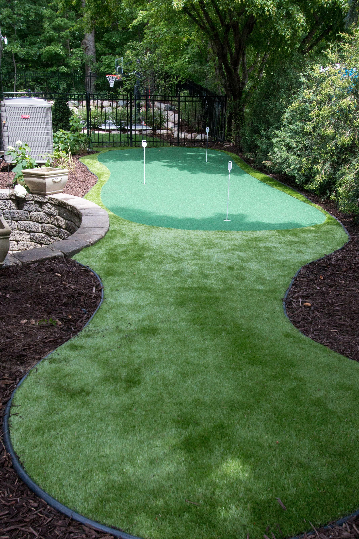 St. Paul, MN   Backyard putting green, Backyard, Outdoor decor