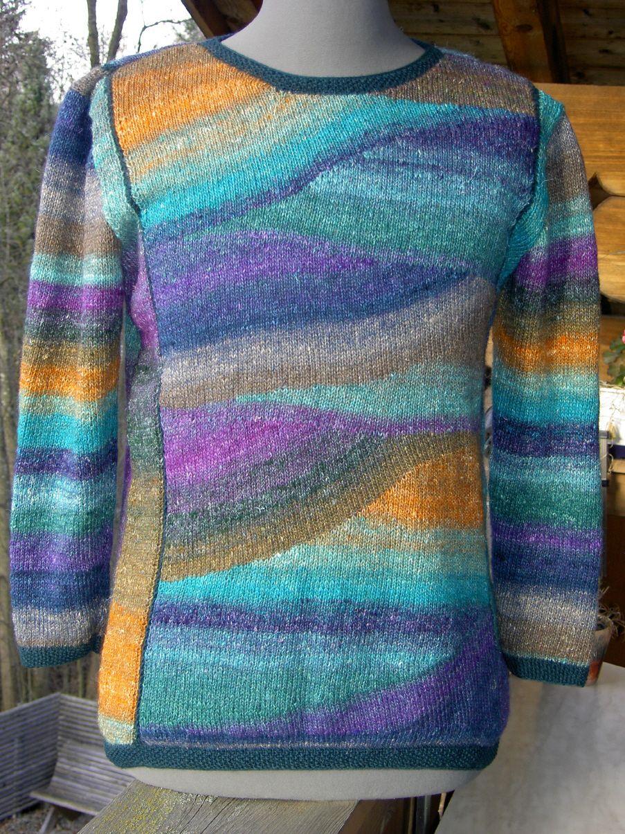 love the color scheme | Pullover stricken, Stricken designs
