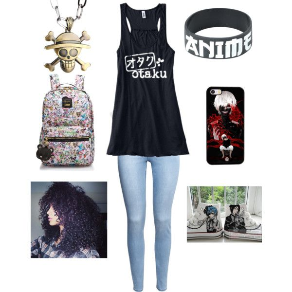 1bd633e242188 Otaku outfit by livin4thethrill on Polyvore featuring polyvore ...