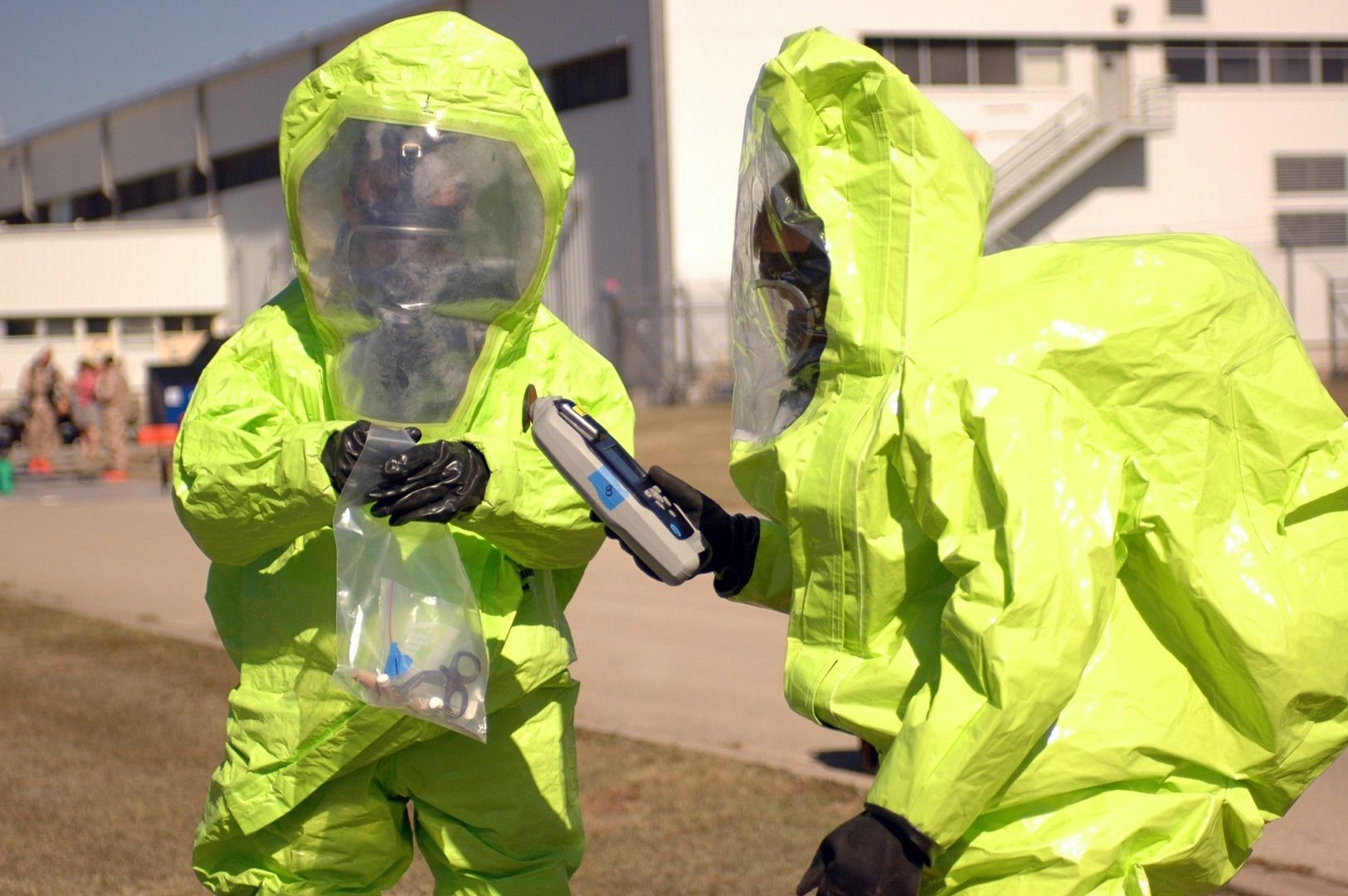 Not All SSHASPS Are Created Equal Hazmat suit, Ebola
