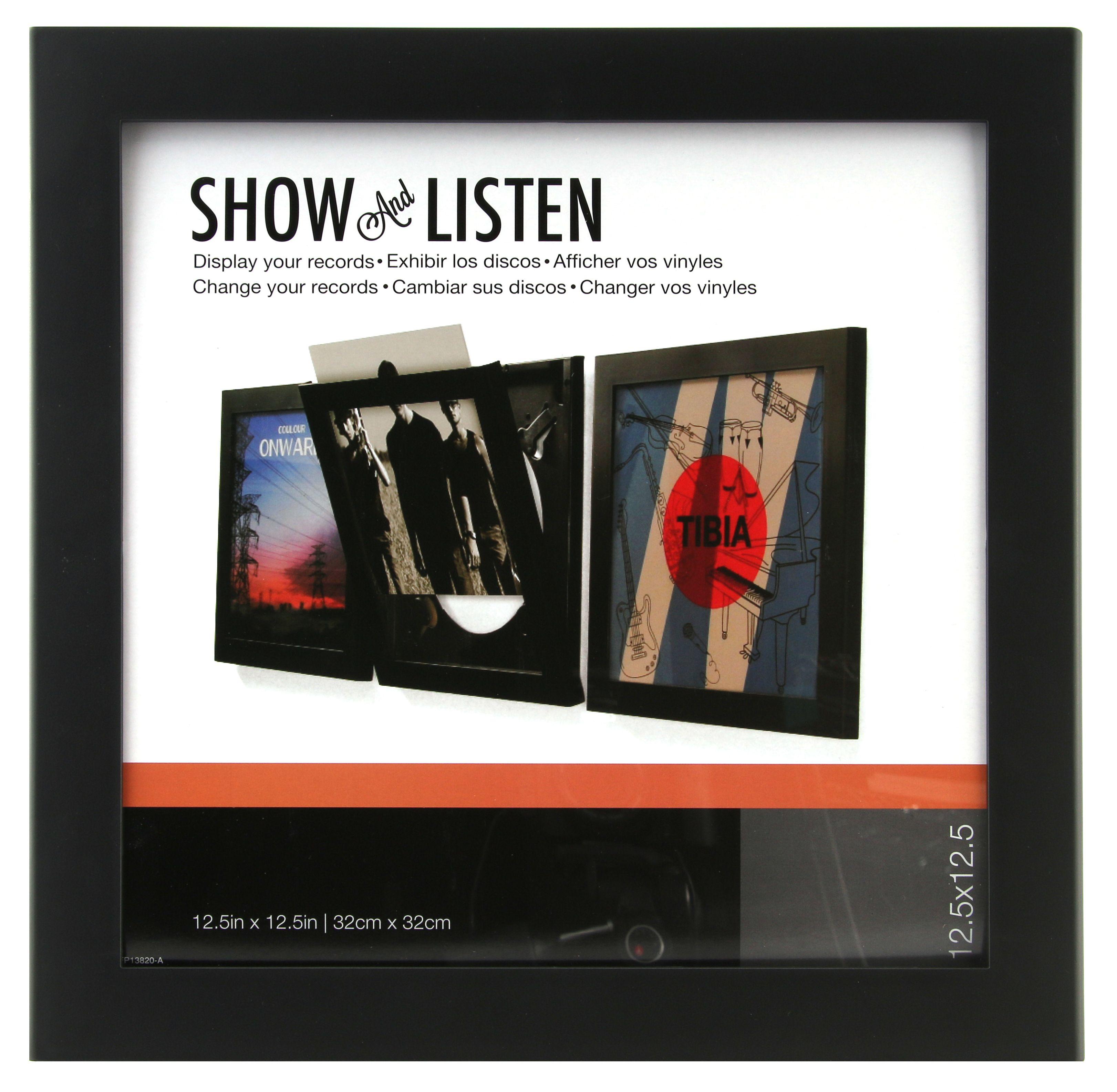 Snap 12.5X12.5 Vinyl Record Frame, Black | Products | Pinterest ...