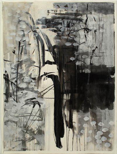 Black White Grey Hues Make A Beautiful Abstract Art Leslieavonmiller Keiko Hara Beautiful Abstract Art Abstract Painting Creative Art Black and white abstract drawings